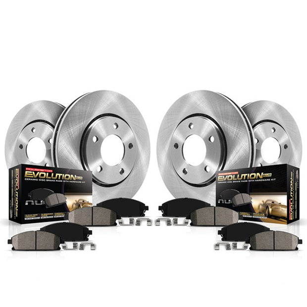 C7 Corvette Powerstop OEM Replacement brake pads and rotors