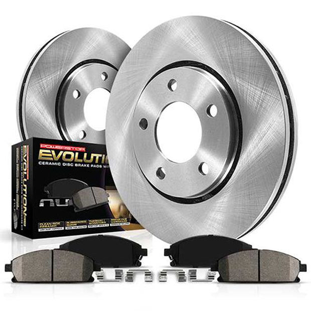C7 Corvette Powerstop Z17 OEM Replacement Brake Pads and Rotors