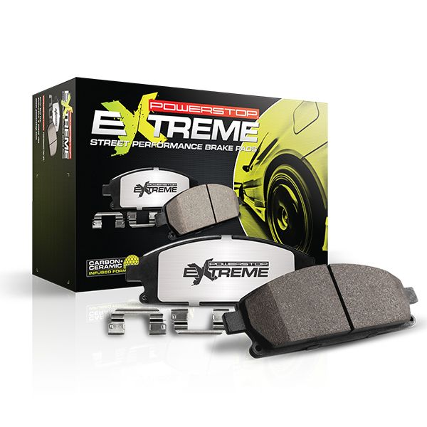 C7 Corvette Powerstop extreme carbon Fiber Ceramic Brake Pads