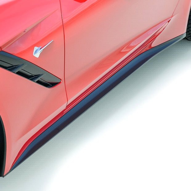 C7 Corvette ACS Zero1 Rocker Panels for the C7 Corvette