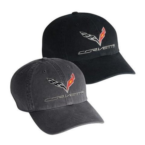 C7 Corvette Ashed Base Ball Cap