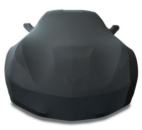 C7 Corvette Black Ultraguard Stretch Satin Car Cover