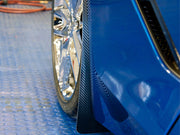 C7 Corvette Carbon fiber Mud Flaps