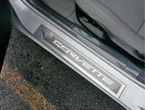 C7 Corvette West Coast Clear Door Sill Protectors