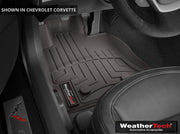 C7 Corvette Cocoa Weather Tech Floor Mats