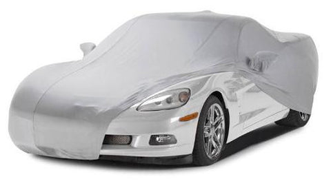 C7 Corvette Z06 Fleeced Satin Car Cover