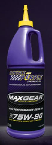 C7 Corvette Gear Oil Royal Purple 75w-90