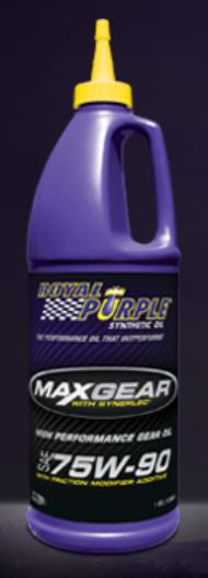 C6 Corvette Gear Oil Royal Purple 75w-90