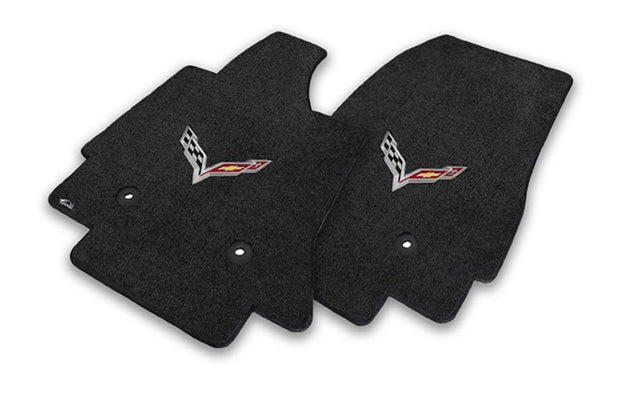 c7 corvette lloyd mats single logo