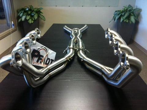 C6 Corvette Pfadt Race Engineering Long Tube Headers