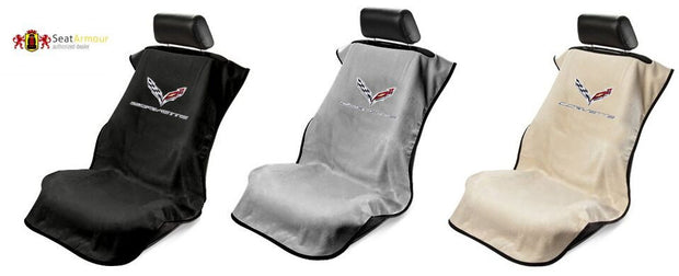 C7 Corvette Seat Armour Car Towel