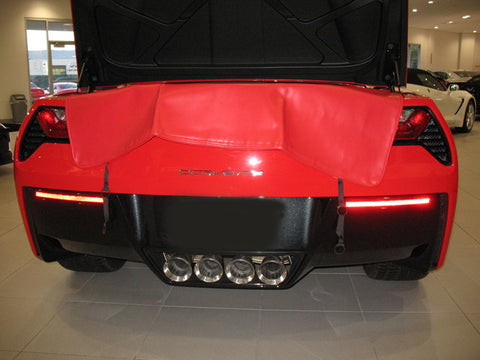 C7 Corvette Speed Lingerie Rear Deck Cover