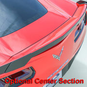 C7 Corvette Spoiler Center Section
