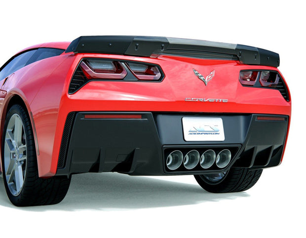 C7 Corvette Stage 3 Spoiler Conversion Kit - C7 Corvette Stingray