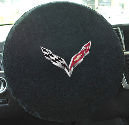 C7 Corvette Steering Wheel Cover