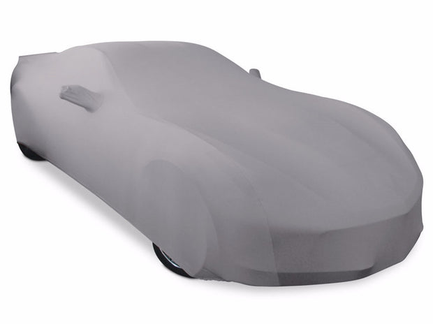 C7 Corvette Ultraguard Silver Stretch satin car cover ultraguard