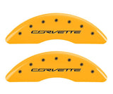 C7 Corvette Yellow Caliper Covers - MPG Caliper Covers