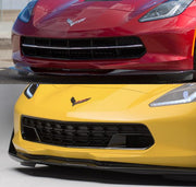 C7 Corvette Z06 Front Grille ACS Composite before and after