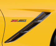 C7 Corvette Z51 Emblems in Carbon Fiber - 6 inch