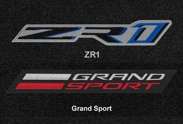 C7 Corvette ZR1 and Grand Sport logo