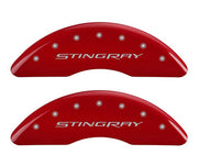 C7 Corvette red caliper cover - mgp