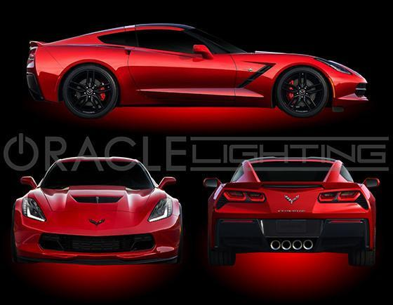 C7 Corvette under body lighting kit