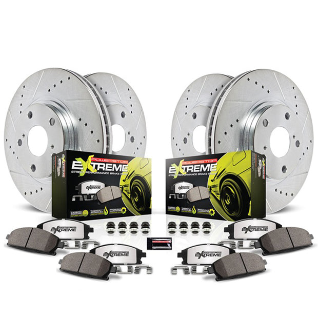 C7 corvette stingray grand sport and z06 powerstop z26 street warrior brake upgrade