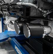 C8 Corvette MBRP Exhaust with Carbon Fiber Tips