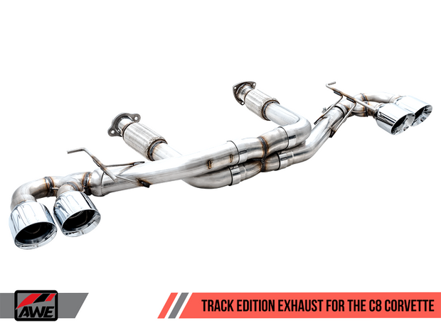 C8 Corvette Stingray AWE Track Edition Exhaust