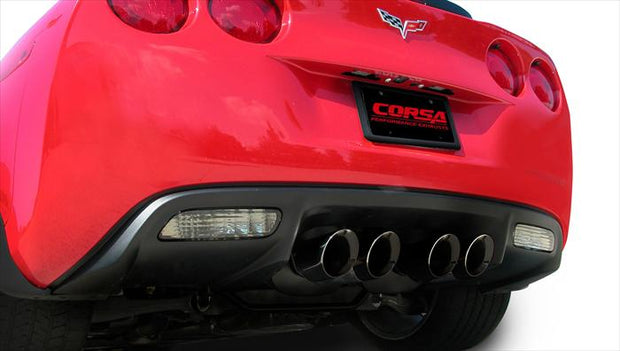 Corsa Black Tips for the C6 Corvette
