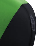 Neoprene seat cover close up