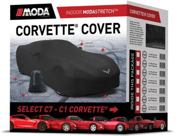Corvette stretch car cover
