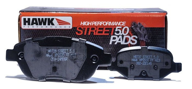 HB726B.582 Hawk Brake Pads - front - c7 corvette
