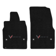 Lloyd Mats Ultimat Single Logo C8 corvette floor mats