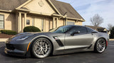 Lowered C7 Corvette Stingray, Grand Sport, Z06