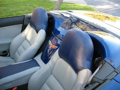 Speed Lingerie Head Rest Covers C6 Corvette