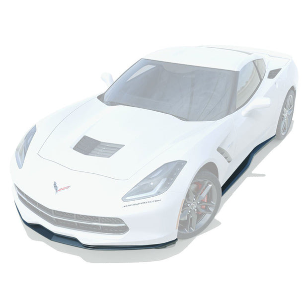 C7 Corvette ACS Composite Stage 1 Splitter