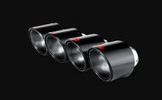 TP-CT1 Akrapovic 115 mm Carbon Fiber Tips