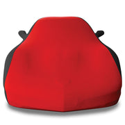 West Coast Corvette C5 Corvette Stretch Satin Car Cover red black