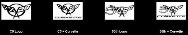 Windrestrictor C5 Corvette Logos