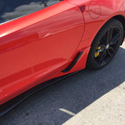 acs c7 corvette z06 brake scoop