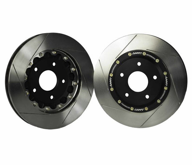 amt motorsport floating rotor kit - corvette
