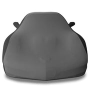 black and grey c5 corvette stretch satin car cover