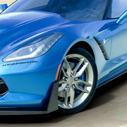 c7 corvette stingray stage 3 splitter deflectors