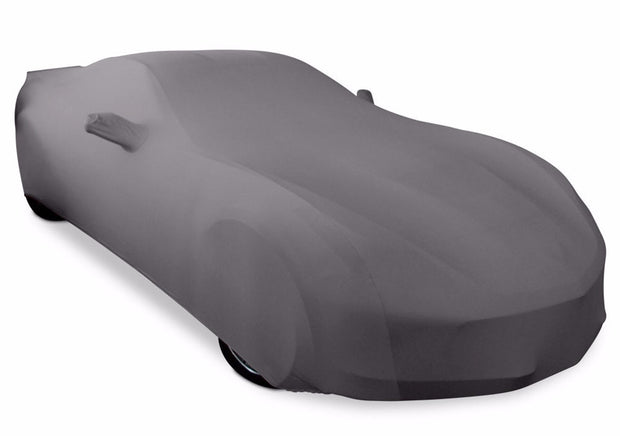 grey stretch satin ultraguard car cover
