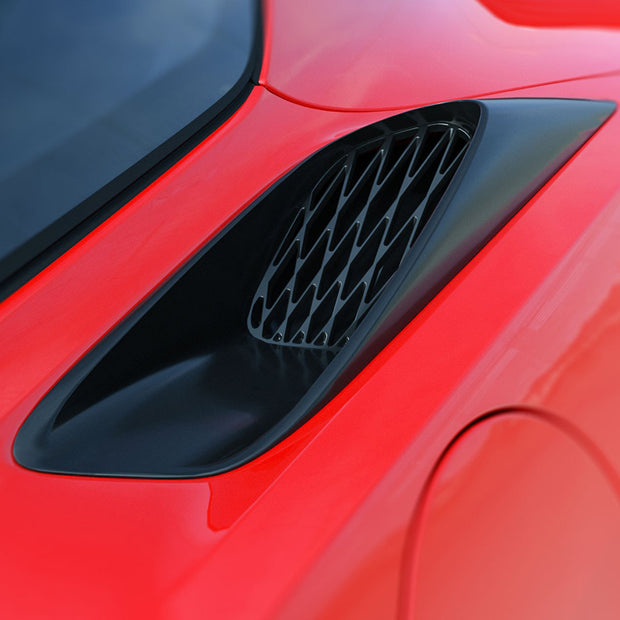 rear quarter panel vent - c7 corvette - acs
