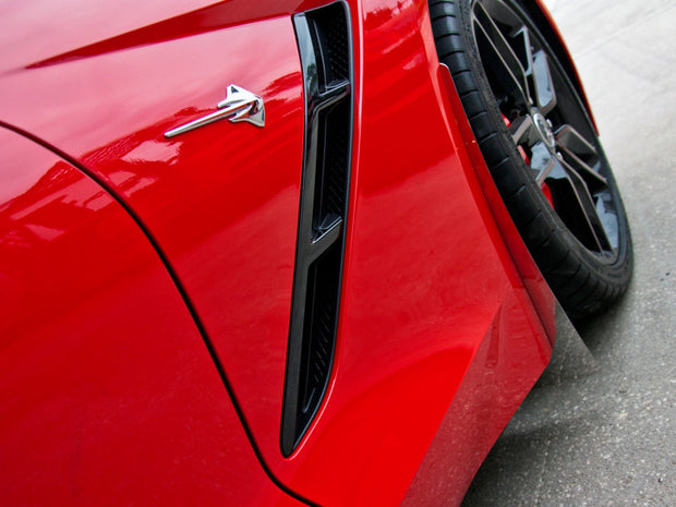 stingray mud flaps for the c7 corvette