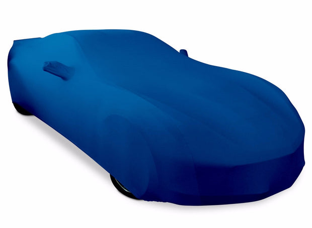 C7 Corvette West Coast Corvette SR1 Stretch Satin Car Cover - Blue