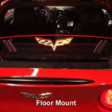 windrestrictor c6 corvette coupe floor mount