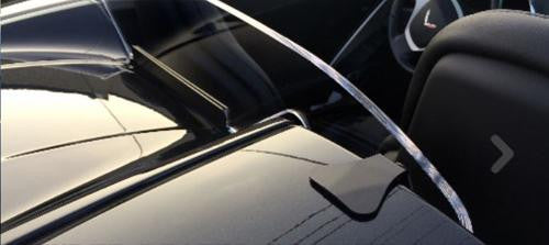 windrestrictor windscreen for the c7 corvette